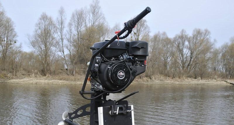 Подвесной лодочный мотор-болотоход MRS-18 hp - Интернет-магазин ТЕХГАРАНТ в Киеве