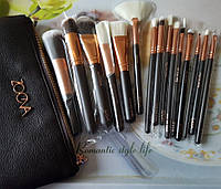 Набор кистей Zoeva Rose Golden Complete Set 15 шт