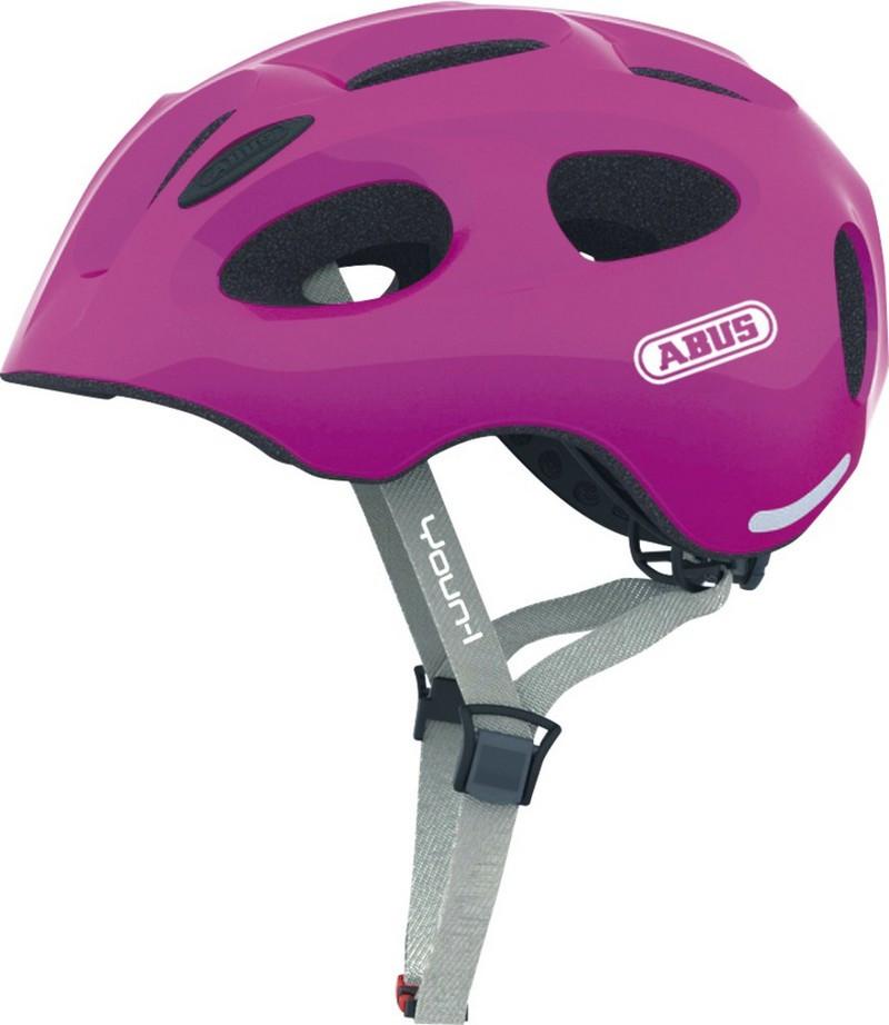 Велошлем детский ABUS YOUN-I Sparkling Pink (S)