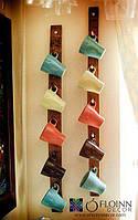 Декоративные полочки из натурального дерева, ручной работы, модель 4