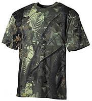 Камуфлированная футболка (Hunter green)