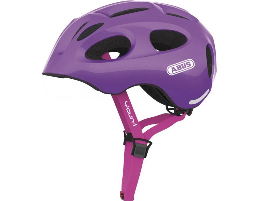 Велошлем детский ABUS YOUN-I Sparkling Purple (S)