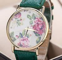 Часы Geneva (green)
