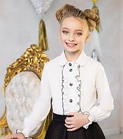 Блузка белая для девочки и подростка
