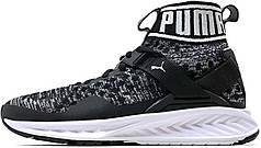 Мужские кроссовки Puma Ignite EvoKnit Black/White