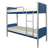 Кровать металлическая Арлекино (Металл-Дизайн) двухъярусная 80