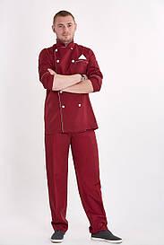 Мужской поварской костюм