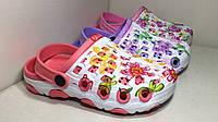 Детские пляжные шлепанцы-кроксы, Польша, размеры 24-29