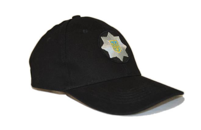 """Бейсболка с кокардой """"Полиция"""", фото 2"""