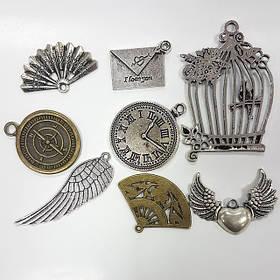 Декор міні металевий