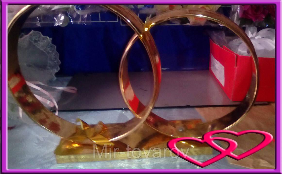 Свадебные кольца на машину (на магните)