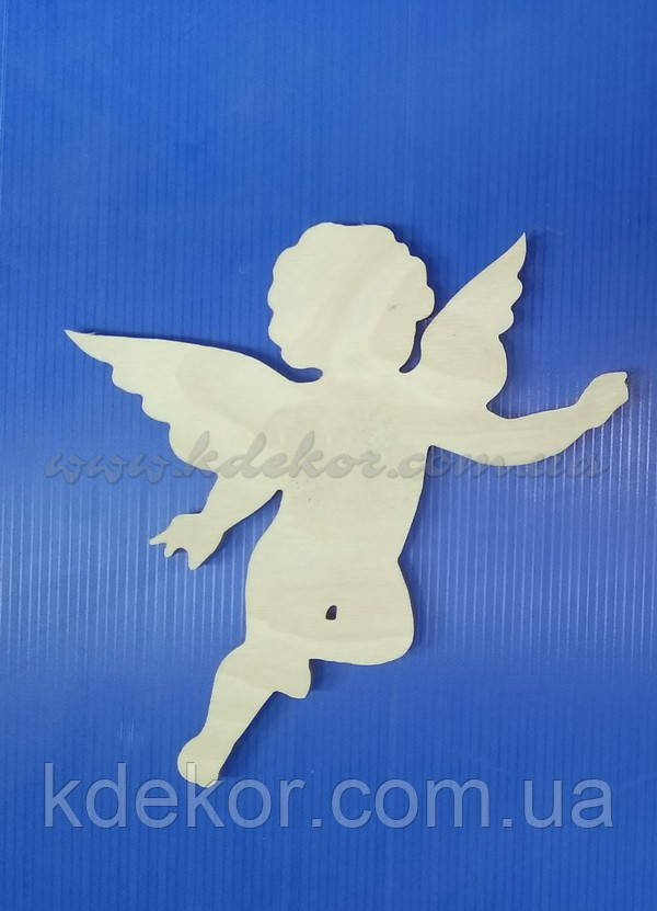 Ангел (Купидон) заготовка для декупажа и декора