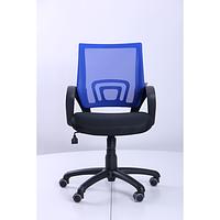 Кресло Веб сиденье Сетка черная, спинка Сетка синяя (AMF-ТМ)