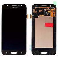 Оригинальный дисплей (модуль) + тачскрин (сенсор) для Samsung Galaxy J5 Duos SM-J500 J500F J500H (черный цвет)