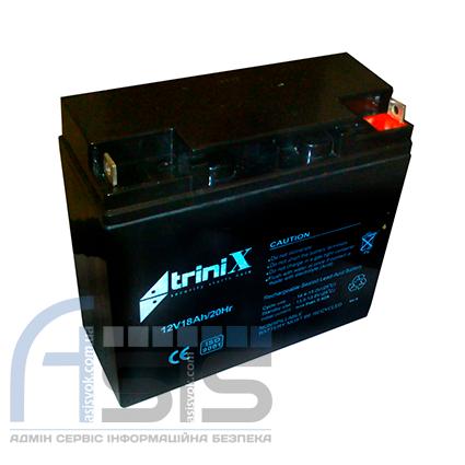 Аккумулятор Trinix АКБ 18 Ач, 12 В, фото 2