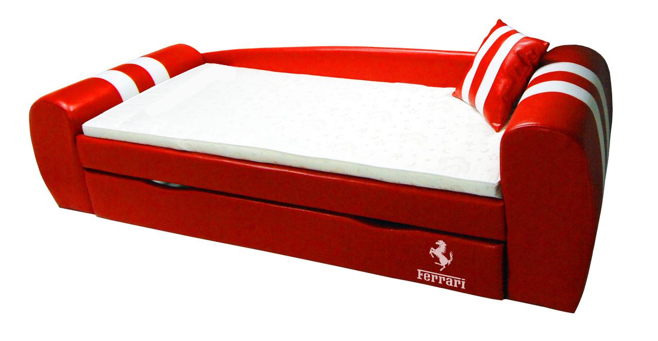 Диван кровать Гранд  ламбо красный - Матрас Диван - мебельный интернет магазин в Киеве