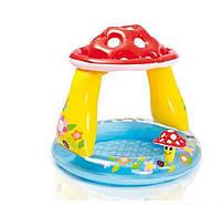 Детский Надувной Бассейн Intex 57114 «Грибок», 102 Х 89 См. Ps