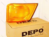 Фонарь указателя поворота левый (поворотник) на Iveco Daily III 2000--2006  DEPO 663-1502L-UE