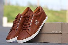 Стильные Мокасины коричневые 40р, фото 2