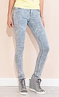Женские джинсы Glenn Zaps серого цвета, коллекция весна-лето 2017.