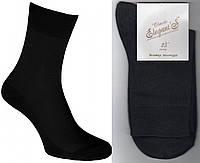 Носки мужские х/б микросетка Элегант - Elegant's Classic, 25 размер, чёрные, 1161