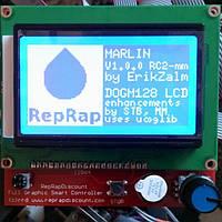 Панель управления с LCD экраном 128х64 для платы RAMPS 1.4