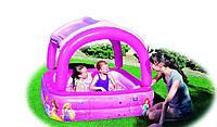 Детский надувной бассейн BestWay 91057 «Принцессы», 147 х 147 х 122 см