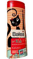 Гель-шампунь для детей Balea Katzen 300 ml.
