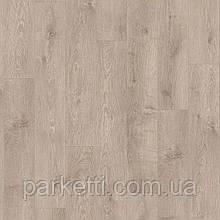 Quick-Step BACL40133 Дуб Перлина, буро-сірий, вініловий підлогу Livyn Balance Click