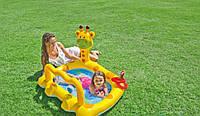 Детский надувной бассейн Intex 57105 «Жираф», 112 х 91 х 72 см