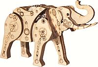 F-067 Набор новогоднее украшение из фанеры Механический слон