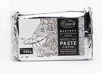 Мастика для моделирования Criamo Какао/ModelingPaste cocoa естественно-белая для покраски 500г