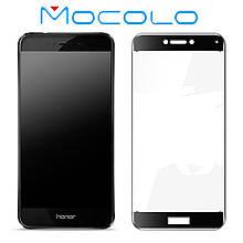 Защитное стекло Mocolo Full сover для Huawei P8 Lite 2017 черный