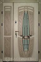 Входная дверь для коттеджа модель Cенат Трио