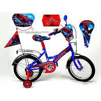 Детский велосипед Mustang Spider Man (16 дюймов)