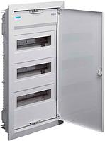 Щит для автоматов на 36(42) модулей с металлическими дверями без клем вмонтированный VOLTA HAGER