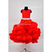 Платье нарядное Облако 6-7 лет Dina-003obl