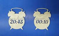 Часы (будильник) фигурка для детской метрики заготовка для декора