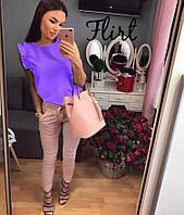 """Блуза """"Ирэна"""",  фиолетовая"""