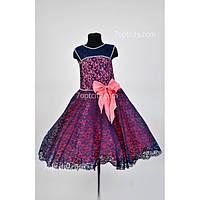 Платье нарядное Гипюр 7-10 лет Dina-049/9