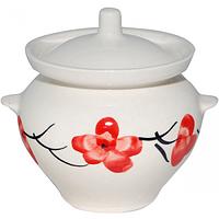 Горшок для запекания керамика 450 мл Сакура SNT 81-450-019