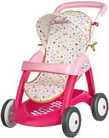 Оригинал. Коляска Smoby Baby Nurse для прогулок з корзиной 251023