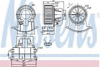 Мотор печки Volksvagen T5