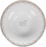Набор суповых тарелок DPL Miks Dots Gold 22,5 cм 6 шт.
