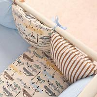 Набор постельного белья для мальчиков Baby Design Premium машинки, фото 1