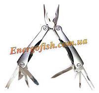 Мультитул (Плоскогубцы,нож,ключ,пилка,отвертки) 9 в 1 стальной