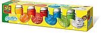 Гуашь СВЕРКАНИЕ 6 цветов, в пластиковых баночках Ses (00333S)