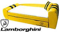 Диван-кровать Гранд Lamborghini желтый для детей и подростков