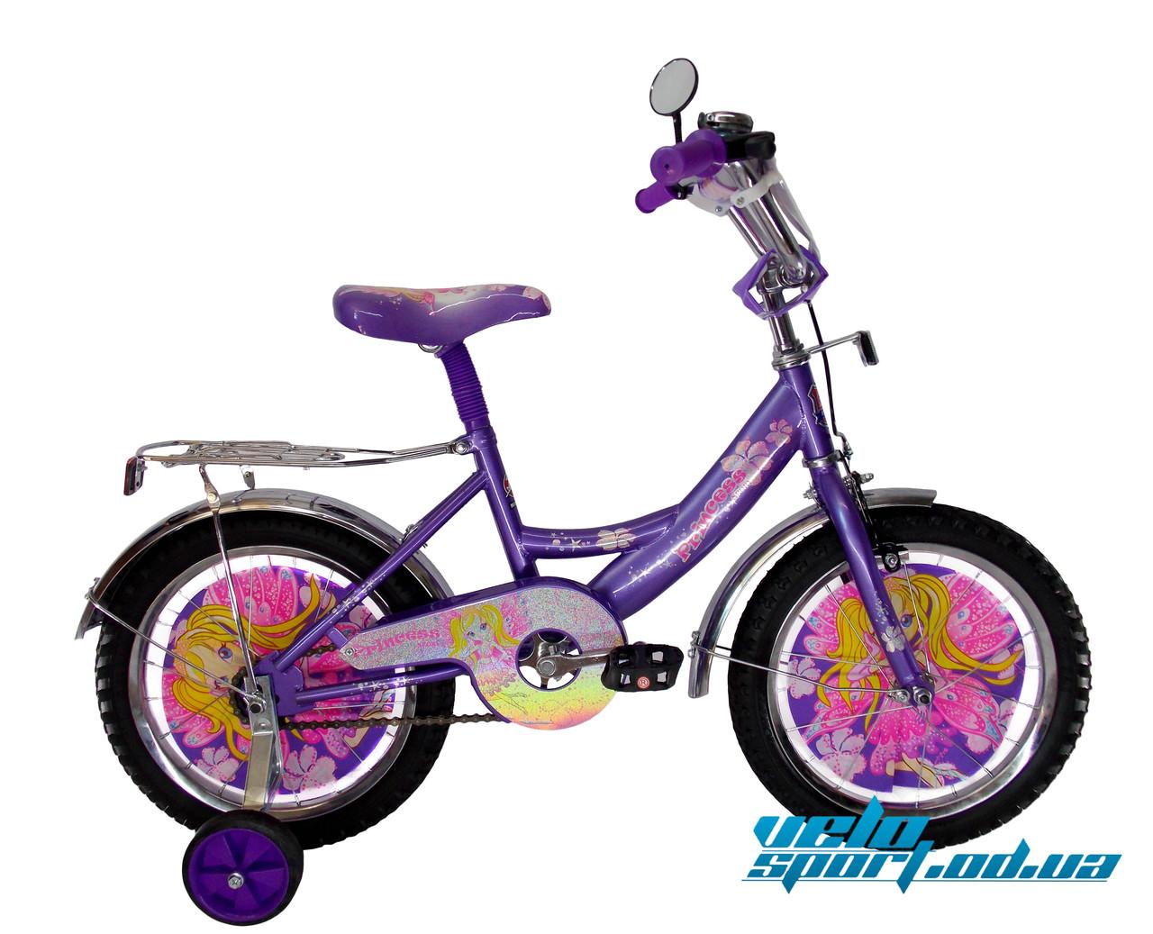 """Детский велосипед Mustang - """"Принцесса"""" (16 дюймов) -   Интернет-магазин """"VELOSPORT.OD.UA""""  в Одессе"""