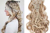 Волосы на заколках мелирование песочное блонд